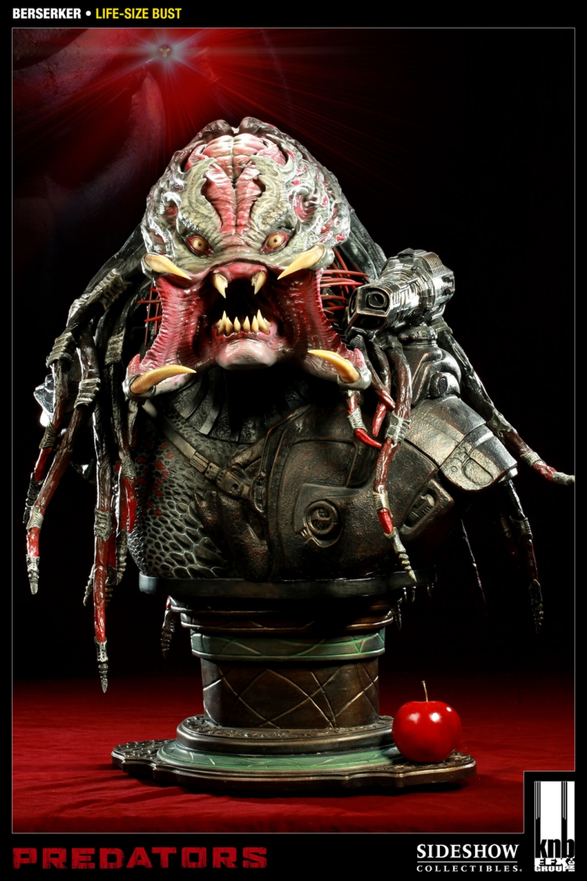 """PREDATORS""  BERSERKER Life size bust The-berserker-predator-400049-press-10"