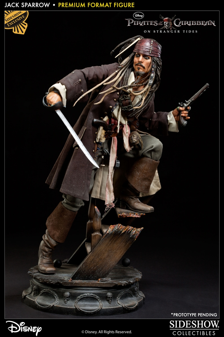 JACK SPARROW ' On stranger tides ' Premium format new 2013 Jack-sparrow-3001231_press-01