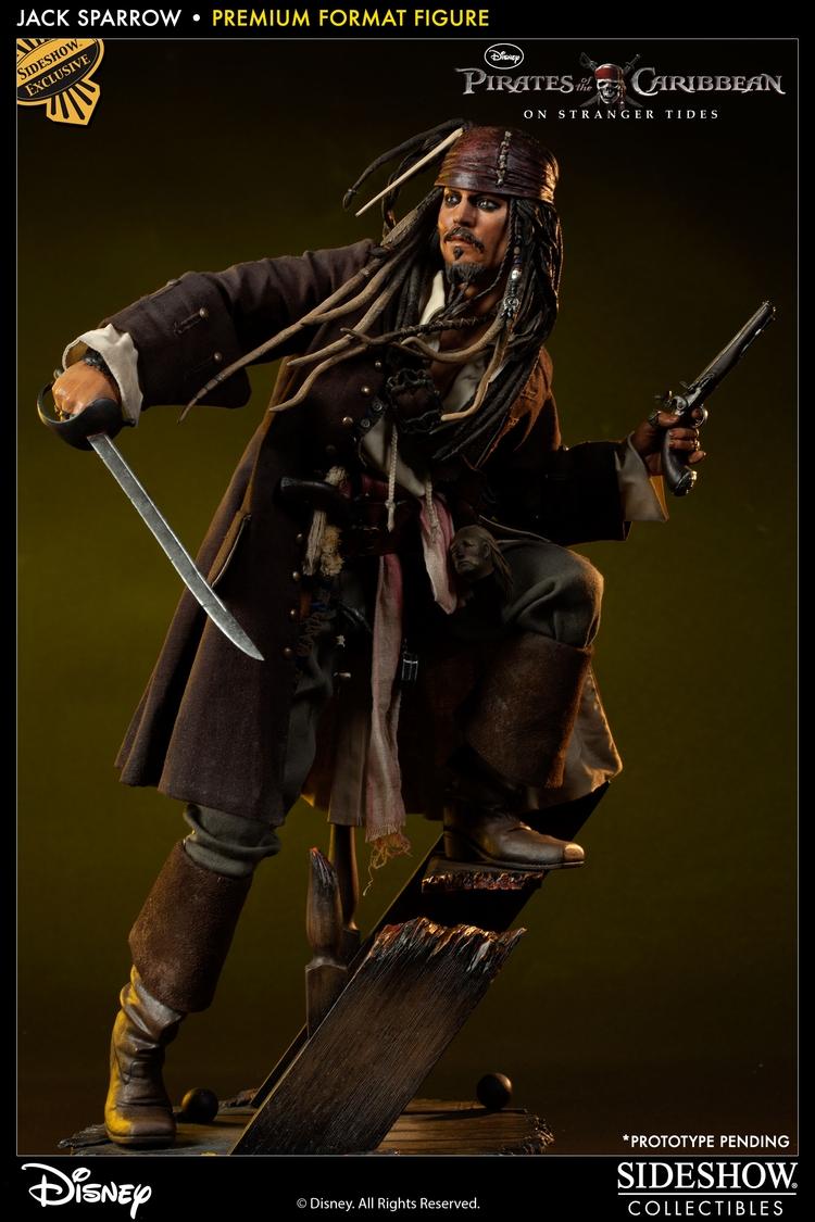 JACK SPARROW ' On stranger tides ' Premium format new 2013 Jack-sparrow-3001231_press-03