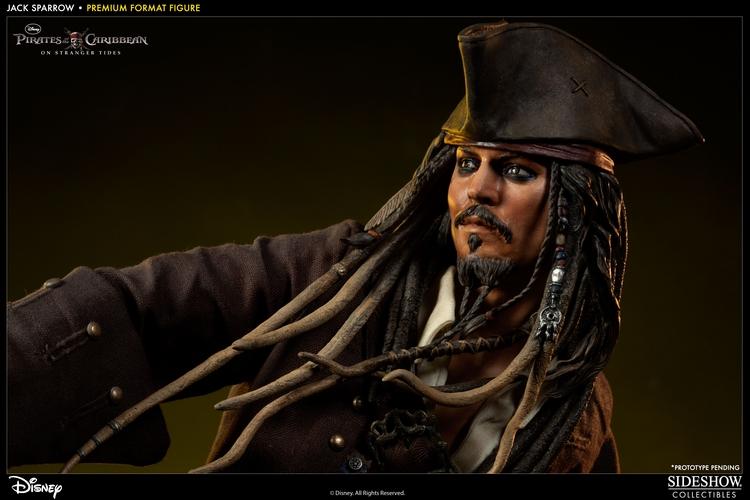 JACK SPARROW ' On stranger tides ' Premium format new 2013 Jack-sparrow-300123_press-02