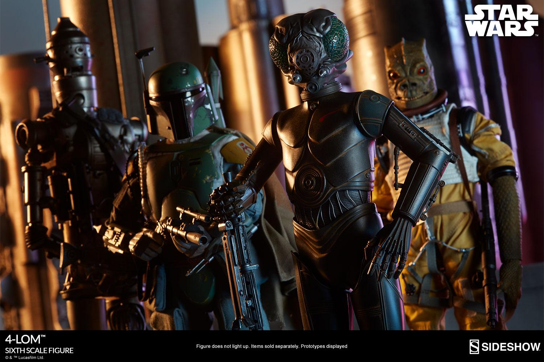 STAR WARS: 4-LOM sixth scale figure Star-wars-4-lom-sixth-scale-100317-16