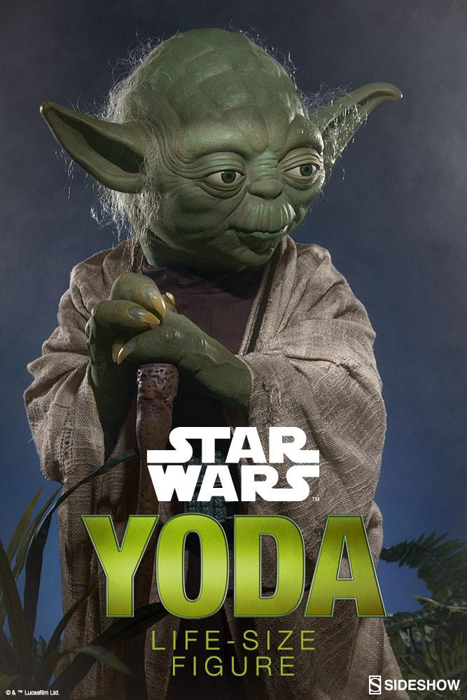 STAR WARS: YODA Life size figure Yoda-life-size-figure-400080-yoda-001