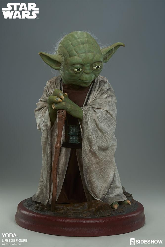 STAR WARS: YODA Life size figure Yoda-life-size-figure-400080-yoda-005