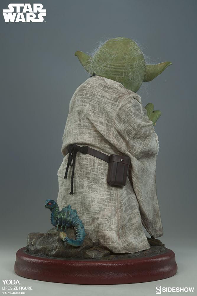 STAR WARS: YODA Life size figure Yoda-life-size-figure-400080-yoda-008