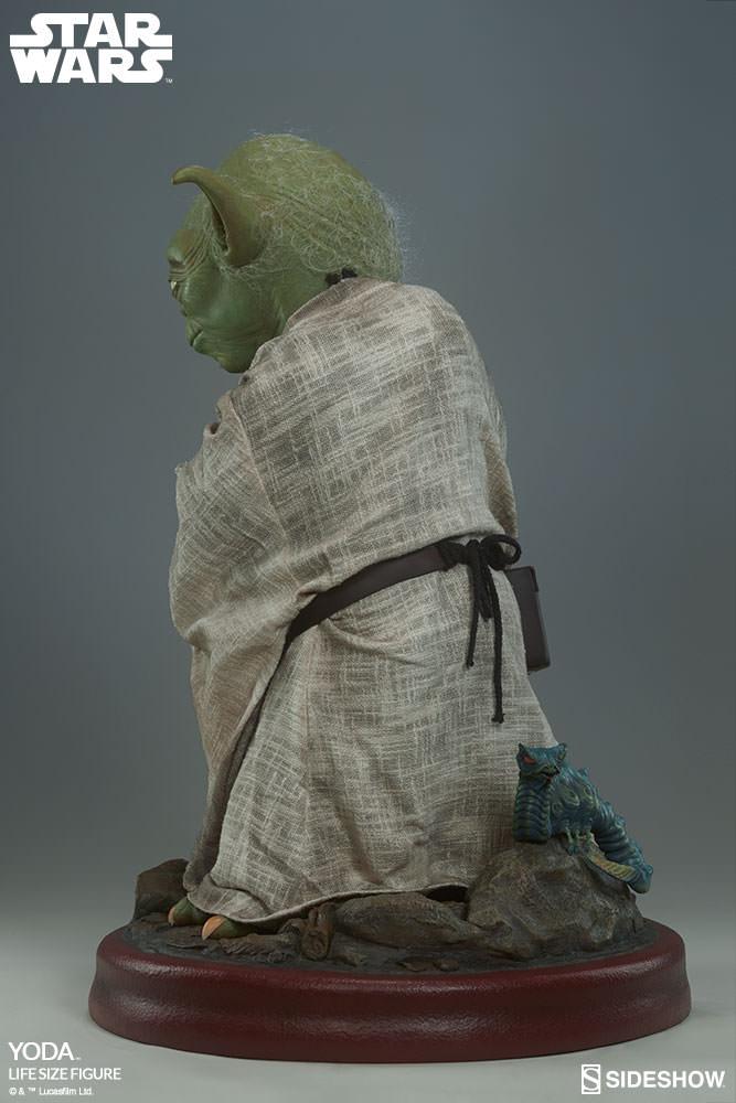 STAR WARS: YODA Life size figure Yoda-life-size-figure-400080-yoda-009