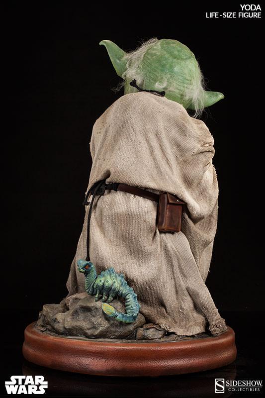 STAR WARS: YODA Life size figure Yoda-life-size-figure-400080-yoda-02