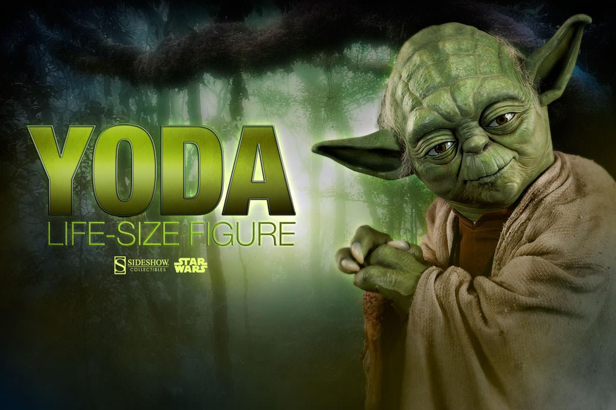 STAR WARS: YODA Life size figure Yoda-life-size-figure-400080-yoda-07
