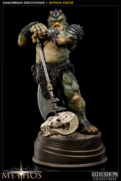 STAR WARS: GAMORREAN EXECUTIONER Mythos statue GAMORREAN-200154-01
