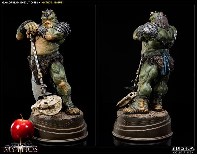 STAR WARS: GAMORREAN EXECUTIONER Mythos statue GAMORREAN-200154-03