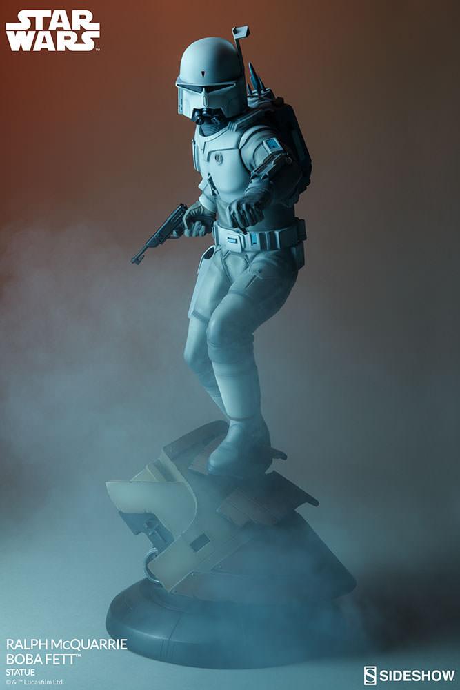 RALPH McQUARRIE BOBA FETT statue Star-wars-ralph-mcquarrie-boba-fett-statue-200372-00