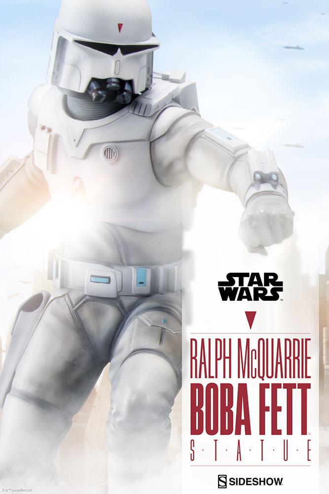 RALPH McQUARRIE BOBA FETT statue Star-wars-ralph-mcquarrie-boba-fett-statue-200372-01