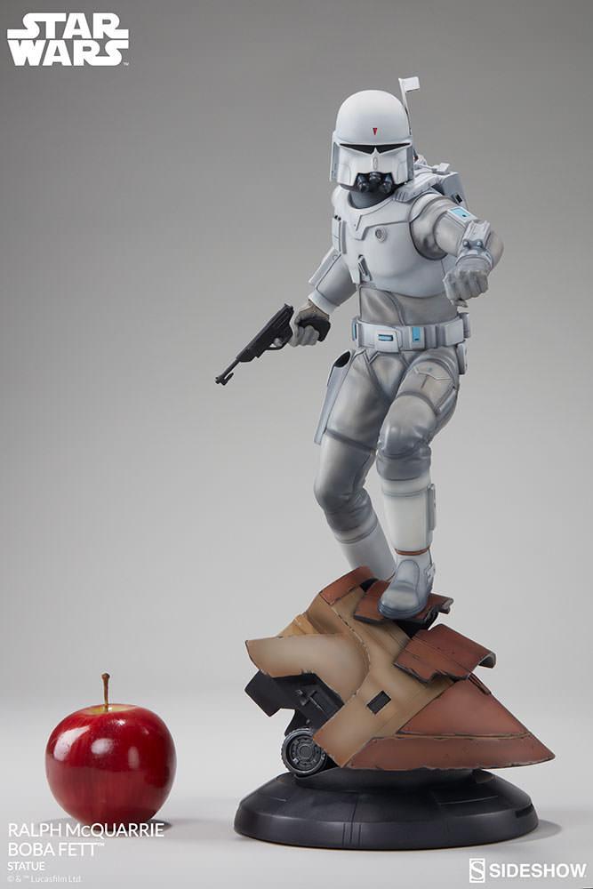 RALPH McQUARRIE BOBA FETT statue Star-wars-ralph-mcquarrie-boba-fett-statue-200372-02