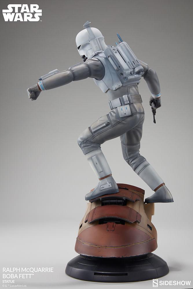 RALPH McQUARRIE BOBA FETT statue Star-wars-ralph-mcquarrie-boba-fett-statue-200372-03
