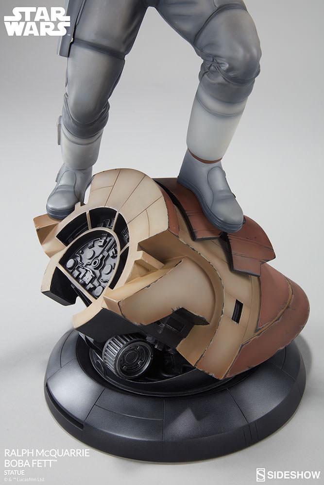 RALPH McQUARRIE BOBA FETT statue Star-wars-ralph-mcquarrie-boba-fett-statue-200372-08