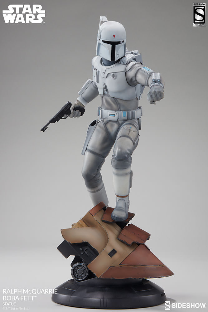 RALPH McQUARRIE BOBA FETT statue Star-wars-ralph-mcquarrie-boba-fett-statue-200372-13