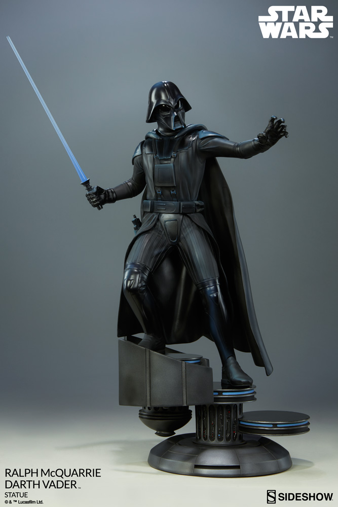 RALPH McQUARRIE DARTH VADER polystone statue Star-wars-ralph-mcquarrie-darth-vader-statue-200371-06