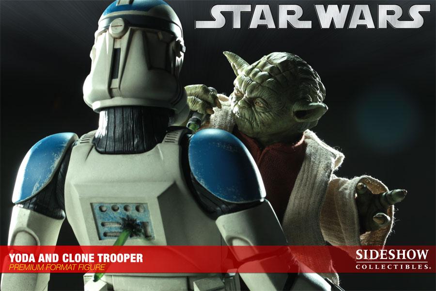 STAR WARS: YODA AND CLONE Premium format Yoda-and-clone-7216-01