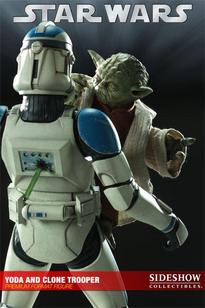 STAR WARS: YODA AND CLONE Premium format Yoda-and-clone-7216-06