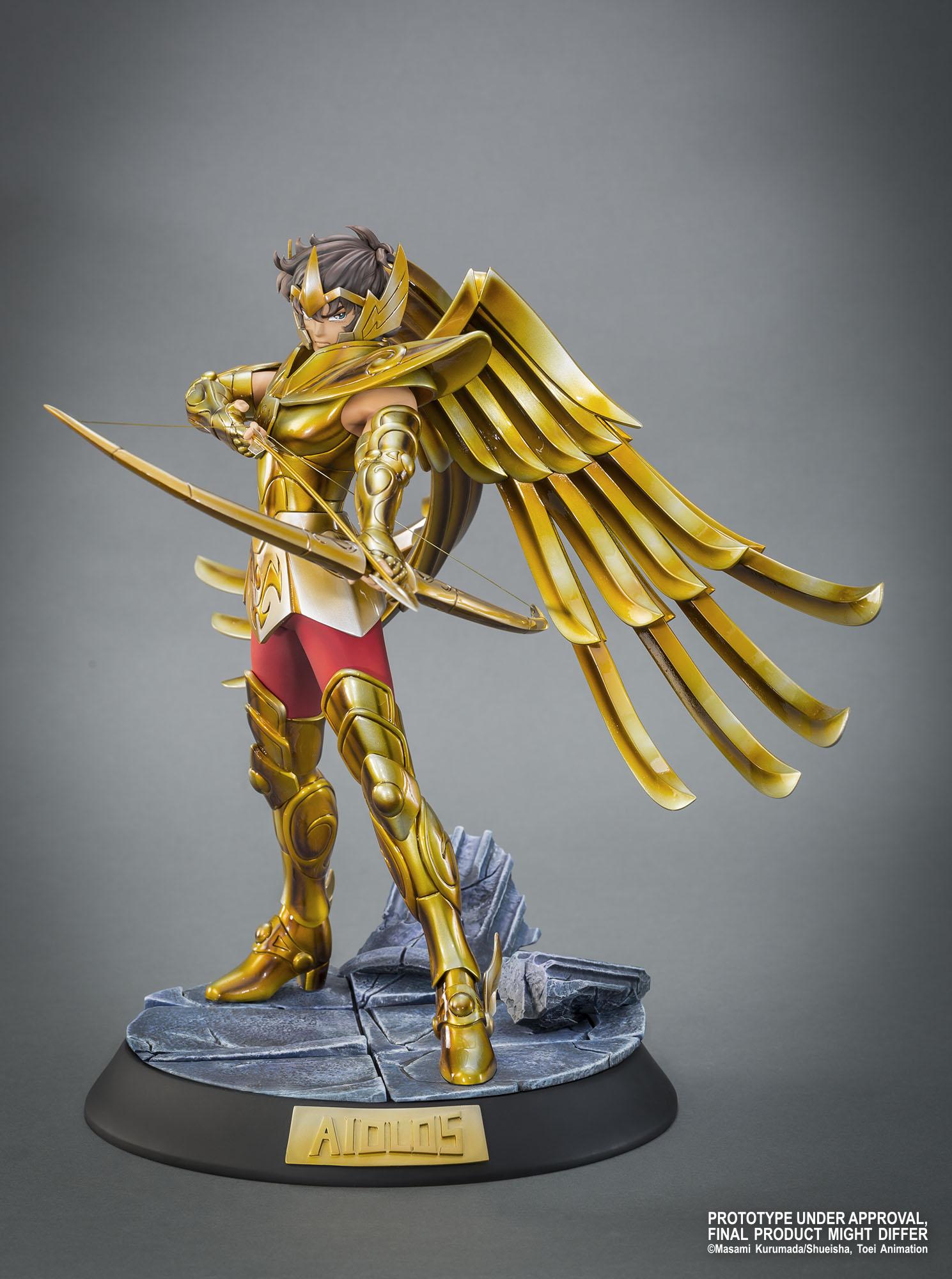 """TSUME : SAINT SEIYA ( chevaliers du zodiaque ) : chevalier d'or du sagittaire aiolos """" HQS"""" Aiolos-hqs-tsu-1"""