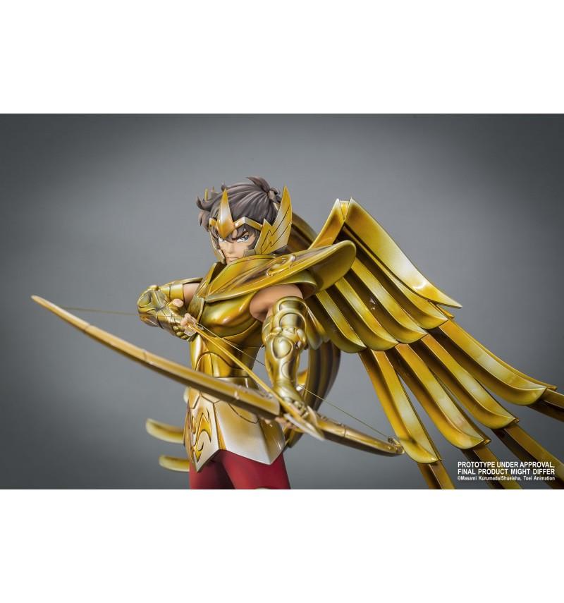 """TSUME : SAINT SEIYA ( chevaliers du zodiaque ) : chevalier d'or du sagittaire aiolos """" HQS"""" Tsume-statue-hqs-saint-seiya-sagaiolos-3"""