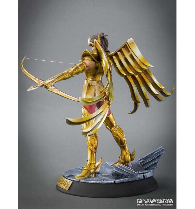 """TSUME : SAINT SEIYA ( chevaliers du zodiaque ) : chevalier d'or du sagittaire aiolos """" HQS"""" Tsume-statue-hqs-saint-seiya-sagaiolos-4"""