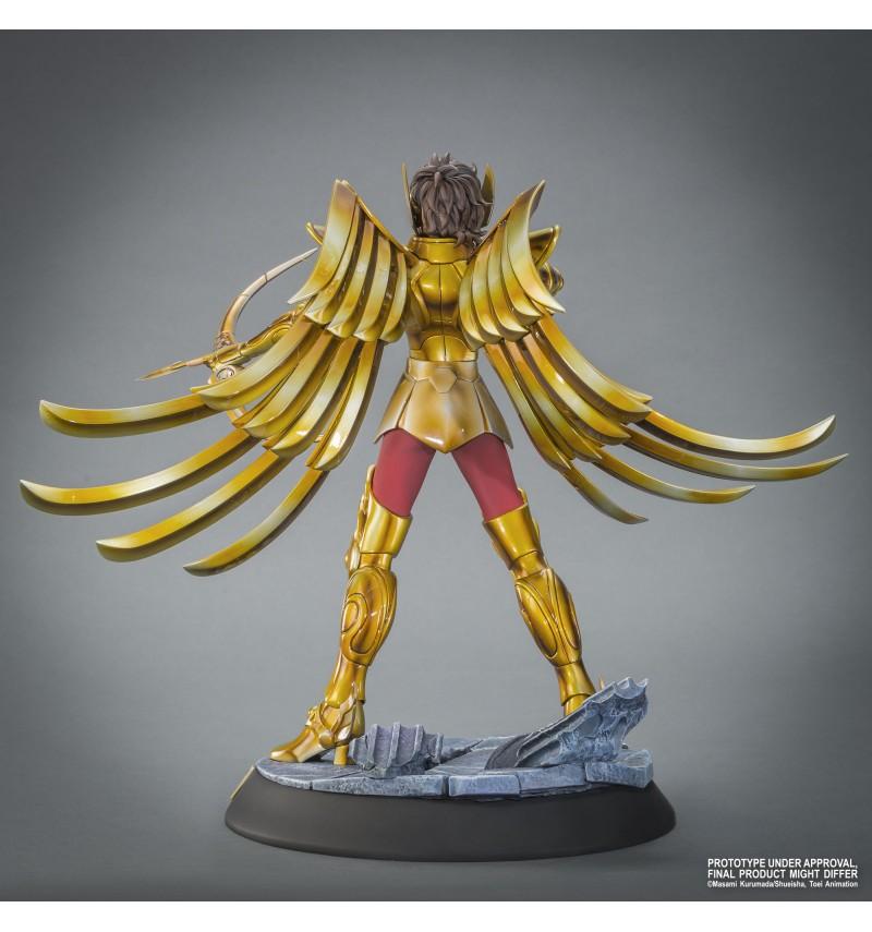 """TSUME : SAINT SEIYA ( chevaliers du zodiaque ) : chevalier d'or du sagittaire aiolos """" HQS"""" Tsume-statue-hqs-saint-seiya-sagaiolos-5"""