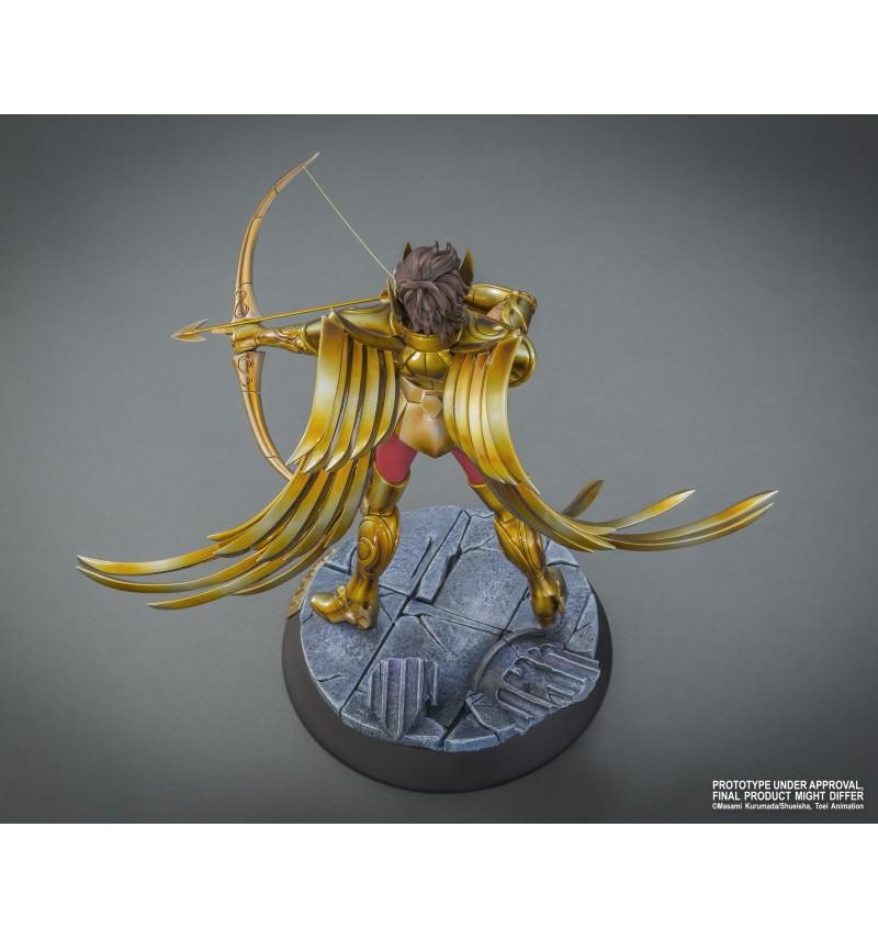 """TSUME : SAINT SEIYA ( chevaliers du zodiaque ) : chevalier d'or du sagittaire aiolos """" HQS"""" Tsume-statue-hqs-saint-seiya-sagaiolos-6"""