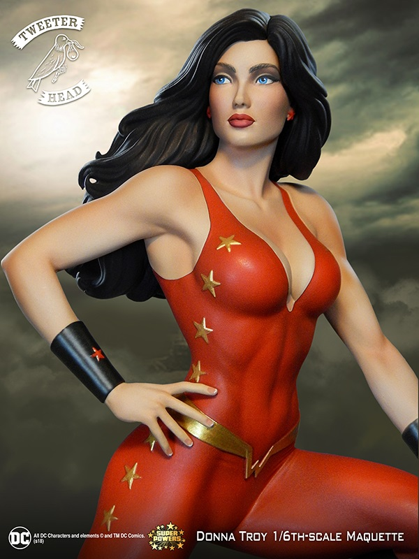 SUPER POWERS DONNA TROY MAQUETTE Donna-Troy_01