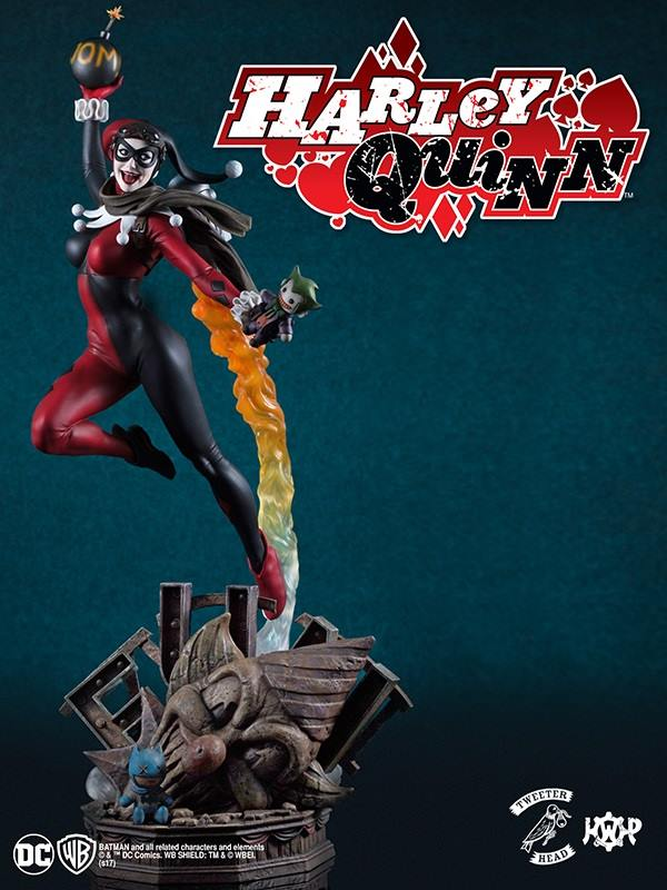 SUPER POWERS COLLECTION : HARLEY QUINN MAQUETTE Harley-Quinn_01