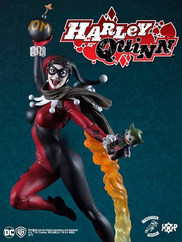 SUPER POWERS COLLECTION : HARLEY QUINN MAQUETTE Harley-Quinn_03