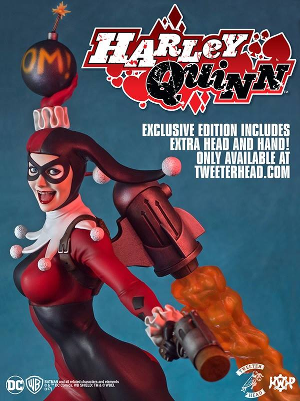 SUPER POWERS COLLECTION : HARLEY QUINN MAQUETTE Harley-Quinn_04