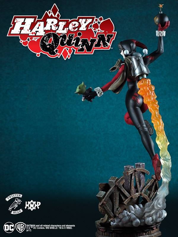 SUPER POWERS COLLECTION : HARLEY QUINN MAQUETTE Harley-Quinn_05