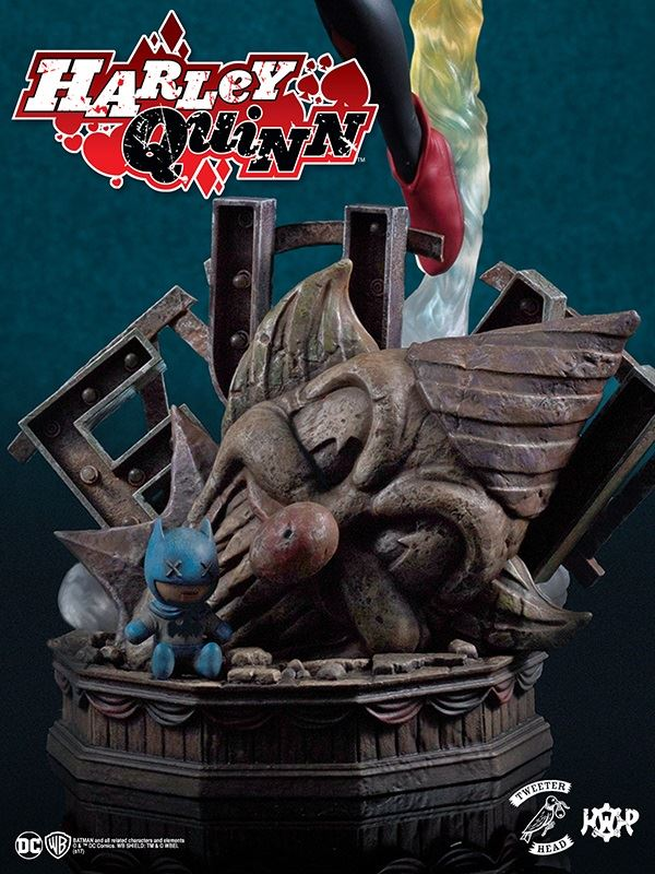 SUPER POWERS COLLECTION : HARLEY QUINN MAQUETTE Harley-Quinn_06