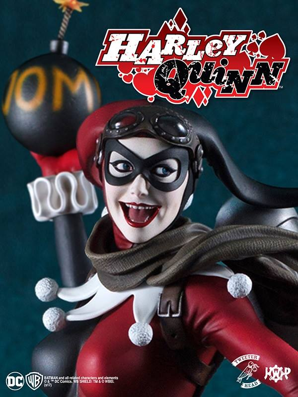SUPER POWERS COLLECTION : HARLEY QUINN MAQUETTE Harley-Quinn_07