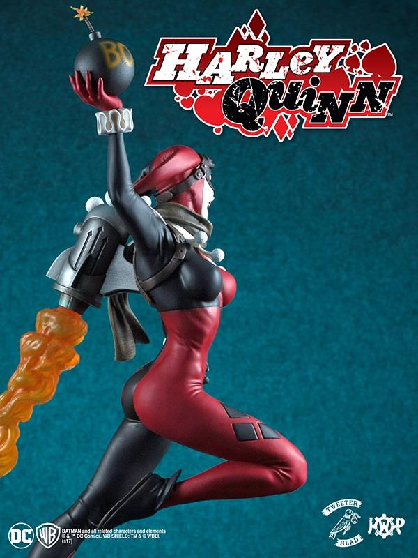 SUPER POWERS COLLECTION : HARLEY QUINN MAQUETTE Harley-Quinn_09