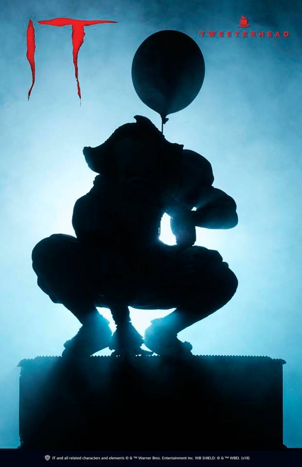 """""""IT"""" Pennywise Maquette Limited Edition Pennywise_01"""