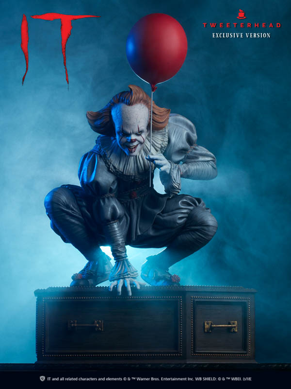 """""""IT"""" Pennywise Maquette Limited Edition Pennywise_01_1538678383"""