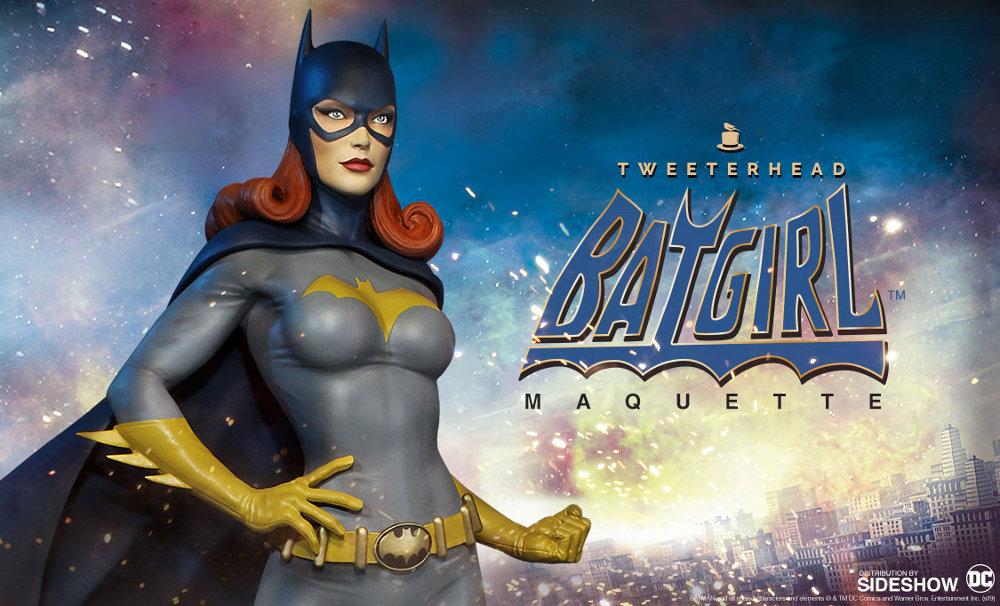 SUPER POWERS BATGIRL MAQUETTE Tweeterhead-Batgirl-Maquette-001
