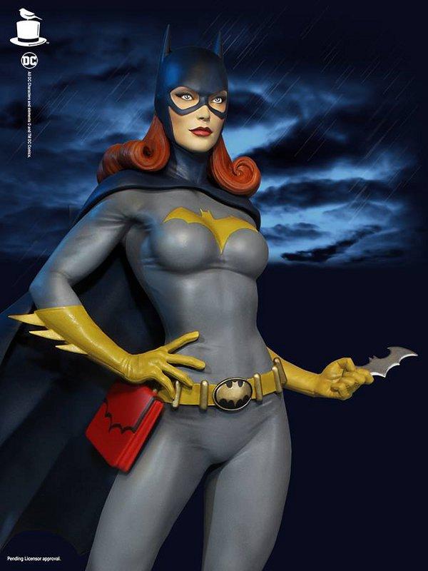 SUPER POWERS BATGIRL MAQUETTE Tweeterhead-Batgirl-Maquette-002