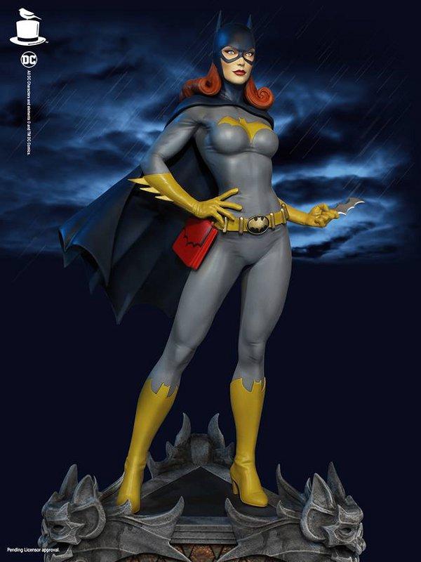 SUPER POWERS BATGIRL MAQUETTE Tweeterhead-Batgirl-Maquette-003