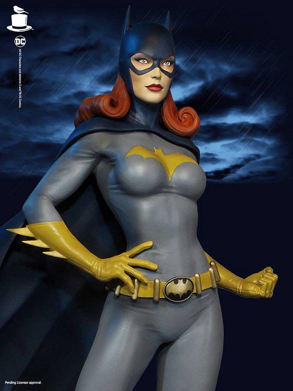 SUPER POWERS BATGIRL MAQUETTE Tweeterhead-Batgirl-Maquette-005