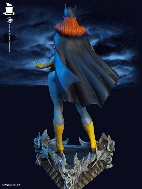 SUPER POWERS BATGIRL MAQUETTE Tweeterhead-Batgirl-Maquette-006