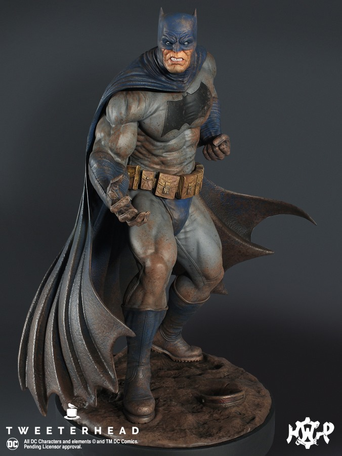 Dark Knight  1.6 Batman Maquette  Dark-Knight-1.6-Batman-Maquette-5