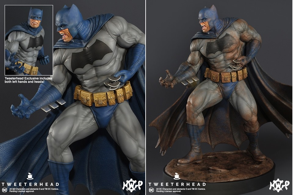 Dark Knight  1.6 Batman Maquette  Dark-Knight-1.6-Batman-Maquette-9