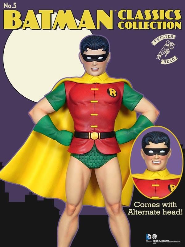"""Batman classics collection : Classic Robin """"change O head"""" maquette Robin-classic_01"""