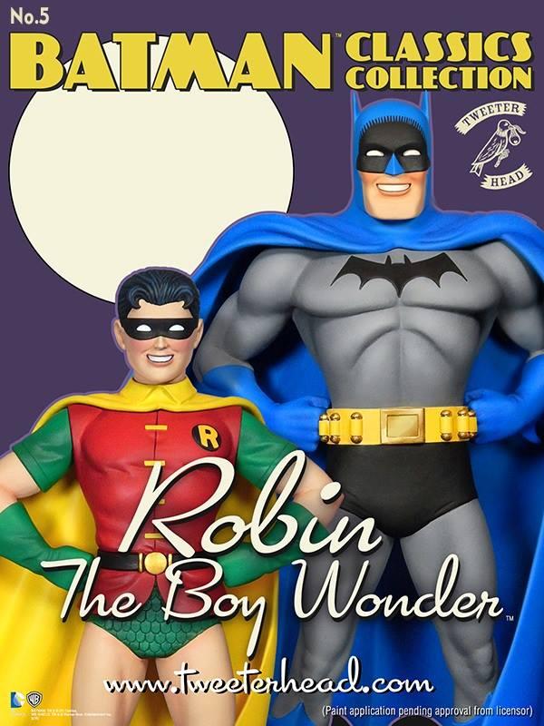 """Batman classics collection : Classic Robin """"change O head"""" maquette Robin-classic_02"""