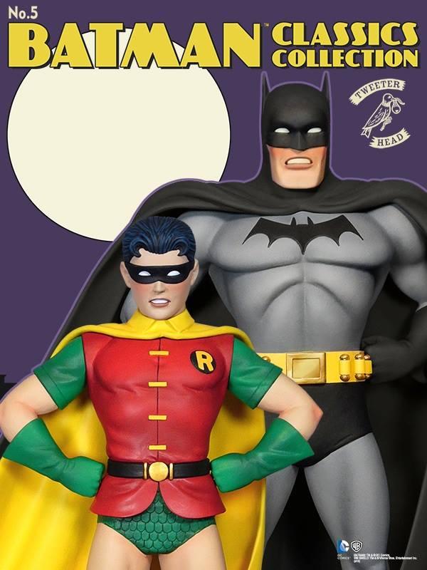 """Batman classics collection : Classic Robin """"change O head"""" maquette Robin-classic_03"""