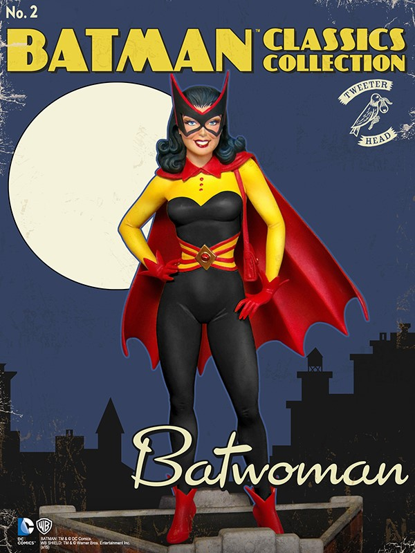 Batman classics collection : Classic Kathy Kane Batwoman Maquette Batwoman_01.jpg