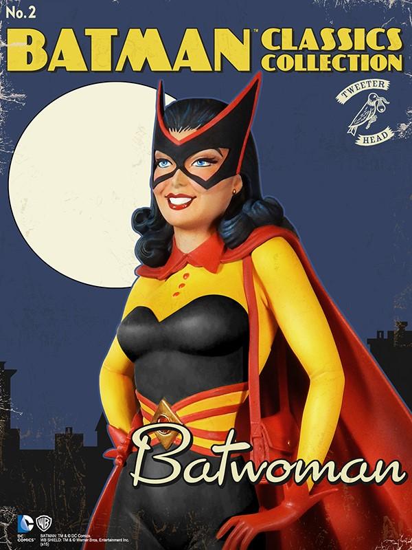 Batman classics collection : Classic Kathy Kane Batwoman Maquette Batwoman_02.jpg