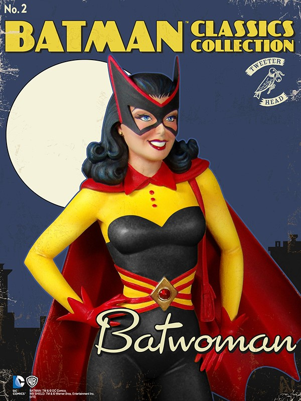 Batman classics collection : Classic Kathy Kane Batwoman Maquette Batwoman_03.jpg